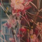 Les fleurs - Peinture au pastel sec par Isabelle Douzamy - Collection privée