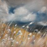 Avant l'orage - Peinture au pastel sec - 30x40 cm