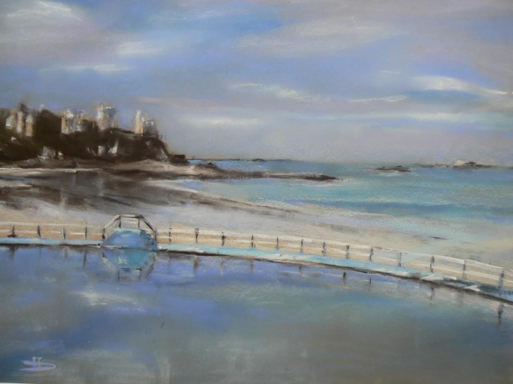 Dinard piscine isabelle douzamy artiste peintre for Piscine dinard