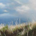 Dune plage des Mielles St Cast - Pastel sec par Isabelle Douzamy - 40x60cm - 700€