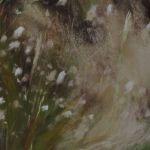 Fleurs de dune - Peinture au pastel sec par Isabelle Douzamy - 30x40 cm