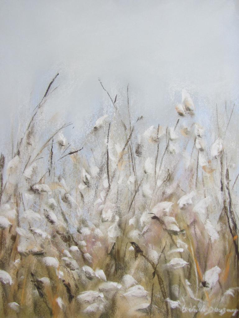 Les chatons - Peinture au pastel sec par Isabelle Douzamy - 40x50cm - 400€