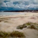 Luminosité à Saint-Cast - Peinture au pastel sec par l'artiste peintre Isabelle Douzamy - 40x50cm - 450€