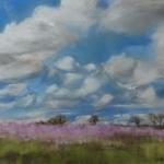 Paysage Breton - Peinture au pastel sec par Isabelle Douzamy - 40x50cm - 550€