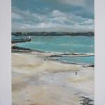 Phare de Saint-Malo - Pastel sec par Isabelle Douzamy - Février - 39x59 cm - 700€