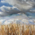 Pléven - Peinture au pastel sec par Isabelle Douzamy - 50x65cm
